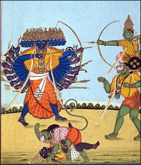20120501-Rama_and_Hanuman_fighting_Ravana.jpg