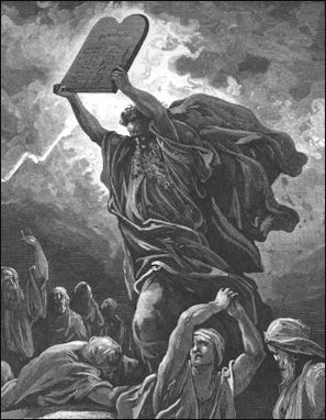 MOSES, EXODUS FROM EGYPT, THE TEN COMMANDMENTS AND THE PROMISED ...