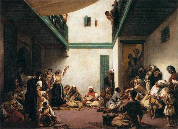 20120505 Wedding Elacroix Jewish In Morocco