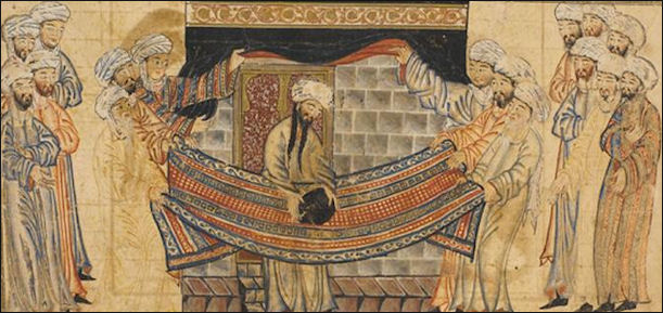 The Hajj And Hajj Tasks Circling The Kaaba Day Of
