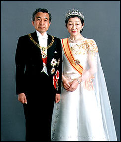 Image result for akihito and Michiko of Japan (1990)